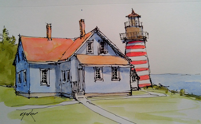 quoddy head light lubec maine A